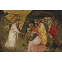 christ in limbo by spinello aretino