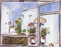 tel-aviv through a window by hayim rosenthal