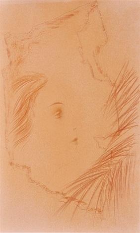 girl face by toyen maria cerminova