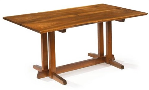 frenchmans cove dining table by george nakashima