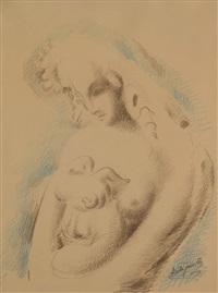 nude by alexander archipenko