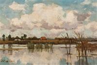 riviergezicht by nicolaas bastert