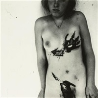 untitled, providence, rhode island (relating to portrait of a reputation) by francesca woodman