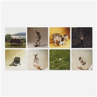 puppies (portfolio of 8) by william wegman