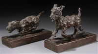 bookends (pair) by edith barretto stevens parsons
