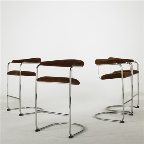 bar stool 3 others 4 works by anton lorenz