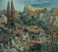 a la montagne by golobkov