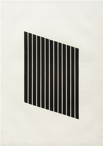 untitled one plate by donald judd