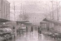 blumenmarkt by eduard courtier