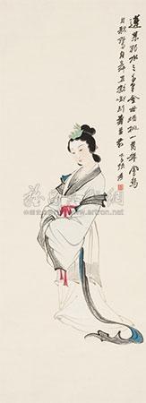 金母蟠桃图 by zhang daqian