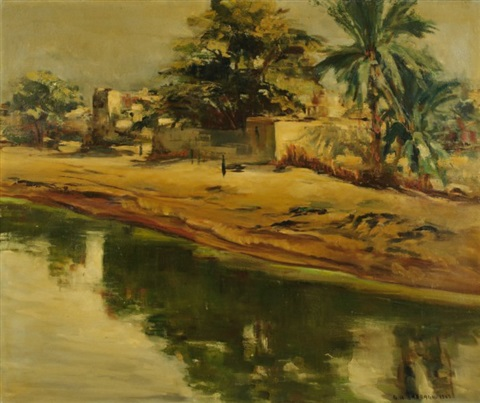 paysage dafrique du nord by georges hanna sabbagh