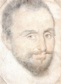 portrait d'homme barbu by françois quesnel