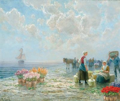 blumenmarkt am pier by h m gabriel