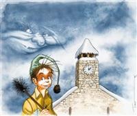 les contes du petit ramoneur (cover for cd album) by turf