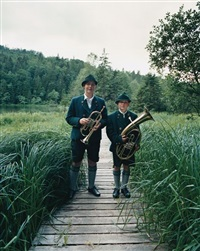 boy scouts, lake königsee, bavaria by richard ansett