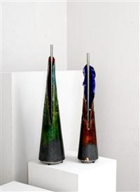 coppia di basi per lampade (2 works) by toni cordero