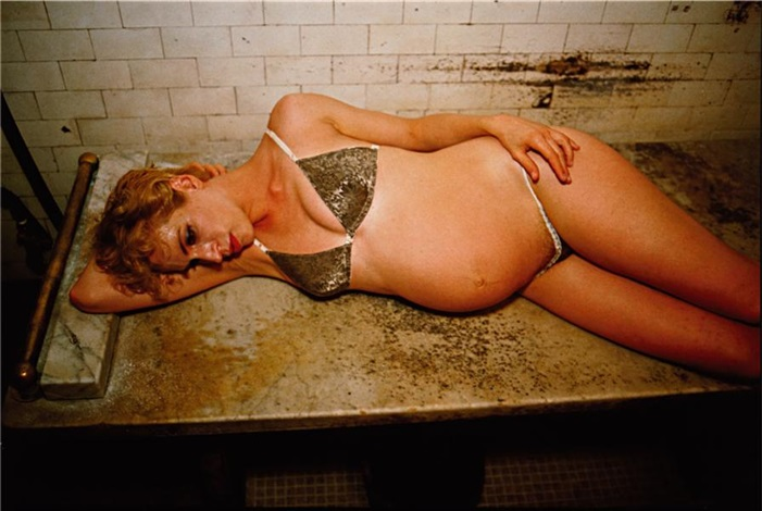rebecca at the russian baths, nyc by nan goldin