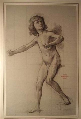 académie denfant by henri léopold lévy