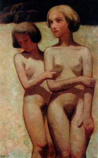 two girls by cornelis kloos