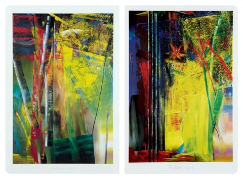victoria i ii set of 2 by gerhard richter