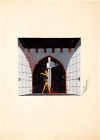 stage design by erté