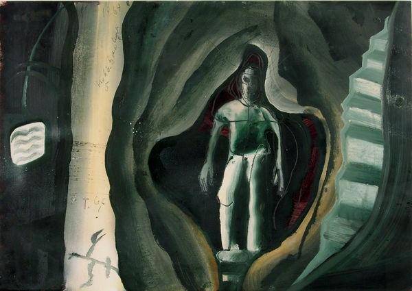 ohne titel höhlenmensch by thomas lange