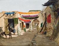 entrée du souk, marrakech by carlos abascal