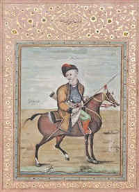 a horse rider by aliquli jabbadar