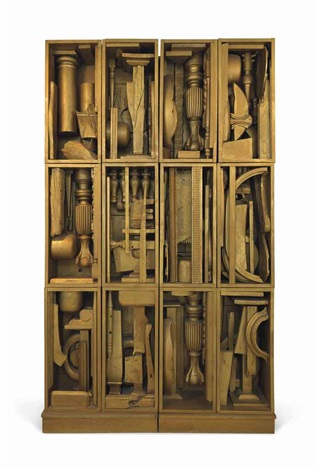 night music b by louise nevelson