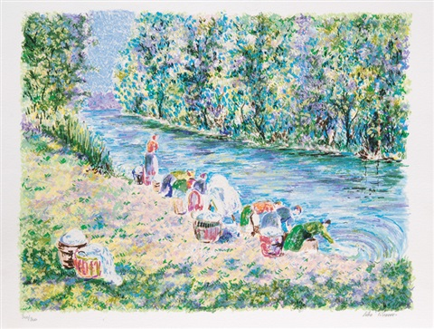impressionist landscapes 8 works by lélia pissarro