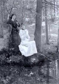 a woodland rendez-vous by albert raudnitz