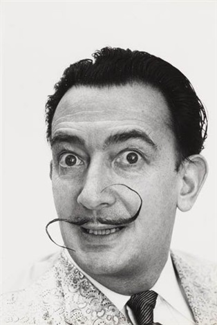 salvador dali diptych mustache up mustache down 2 works by philippe halsman