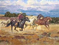 running the saddle bunch by kim mackey