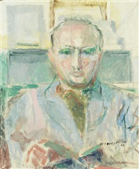 portrait d'homme by jacques villon