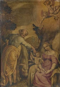 la sainte famille by lorenzo sabatini