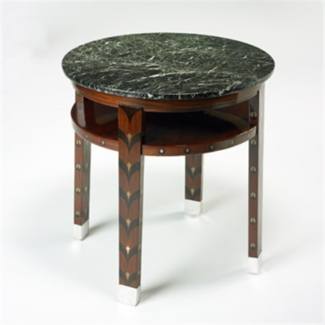 occasional table by polgar alajos