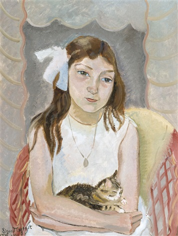 lenfant et le chat by edgard tytgat