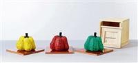 pumpkin (set of 3) by yayoi kusama