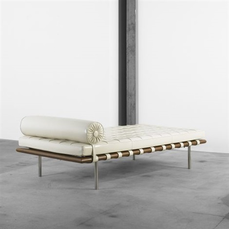 Barcelona Daybed By Ludwig Mies Van Der Rohe On Artnet