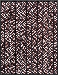 big print #1 (lahala tweet - cotton chevron, fall design dorothy draper, courtesy schumacher & co.), 2007 by annette kelm