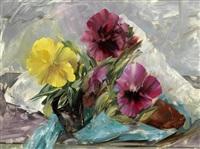 pansies by leonard appelbee