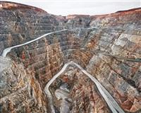 sugar pit #1, kalgoorlie, western australia by edward burtynsky