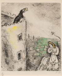 pl.69 (from bible) by marc chagall