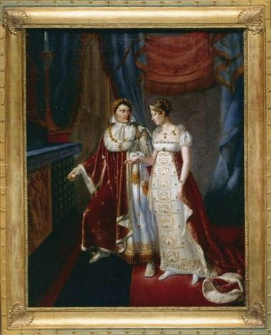 le mariage de lempereur napoléon 1er et de limpératrice marie louise by auguste françois laby