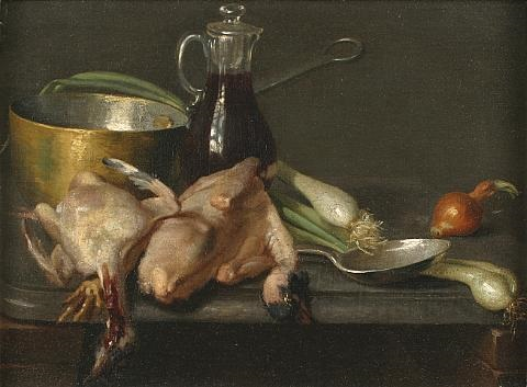 table de cuisine by jean baptiste siméon chardin