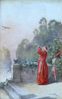 le cardinal à la longue vue by alfred weber