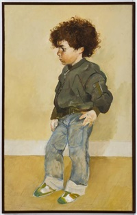 retrato de niño by carlos alonso