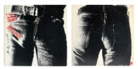 rolling stones - sticky fingers by andy warhol