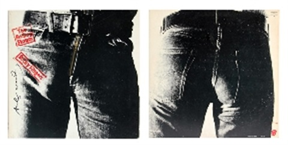 Rolling Stones - Sticky Fingers by Andy Warhol on artnet