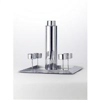 manhattan cocktail set (set of 6) by norman bel geddes
